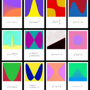 math-art-postcard-series
