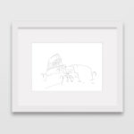 drawing-colosseum-rome-frame