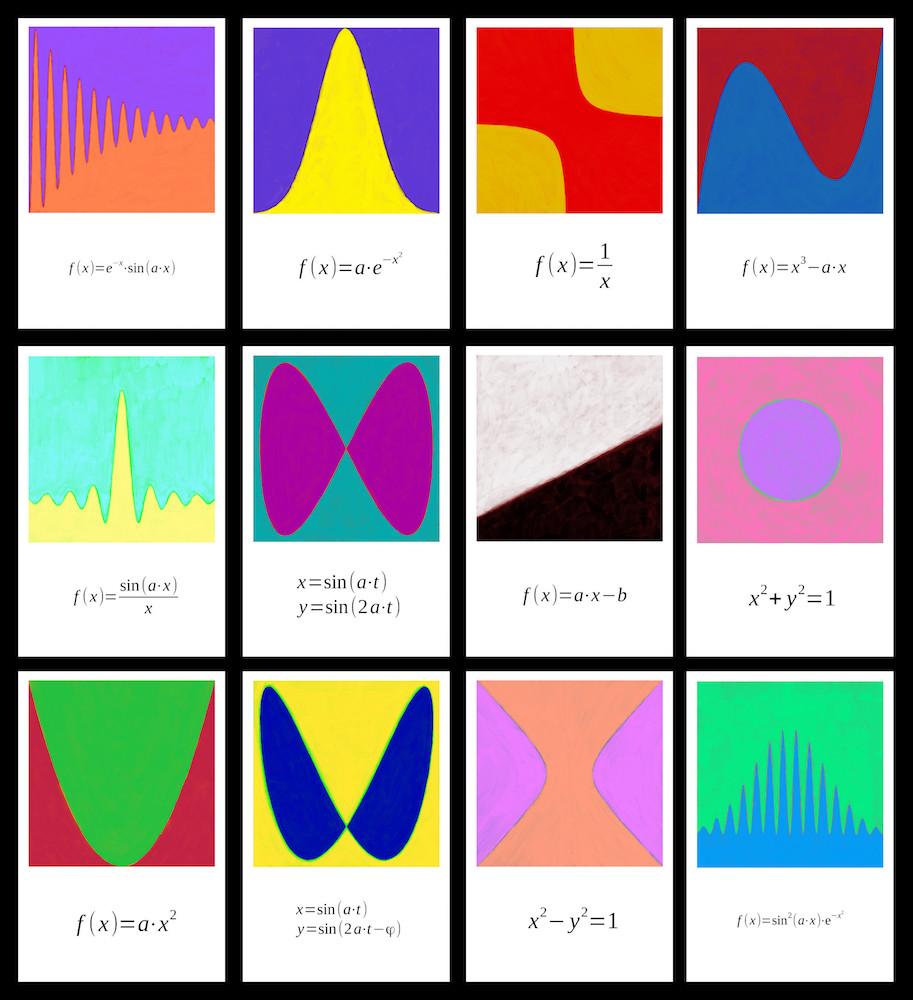 math-art-postcard-series