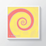 painting-framed-spiral-math-art